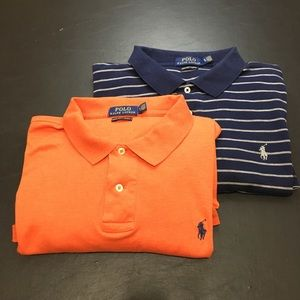 Polo Ralph Lauren Pima Soft Touch Men's Shirts.